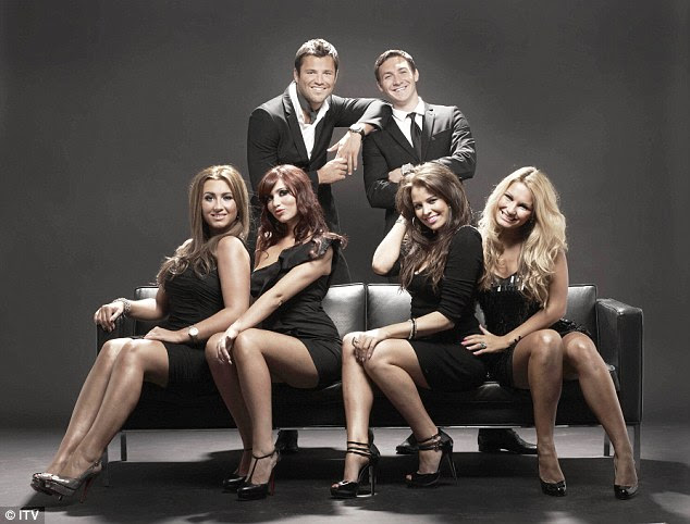 Original: Lauren was among the early cast members of the show (L-R front - Lauren, Amy Childs, Jessica Wright and Sam Faiers with Mark Wright and Kirk Norcross behind