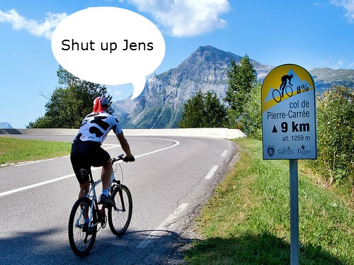 Shit Cycling Climbers Say |