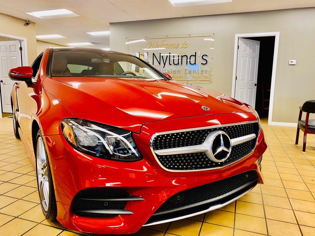 Mercedes Benz Auto Body Repair at Nylund's Collision Center