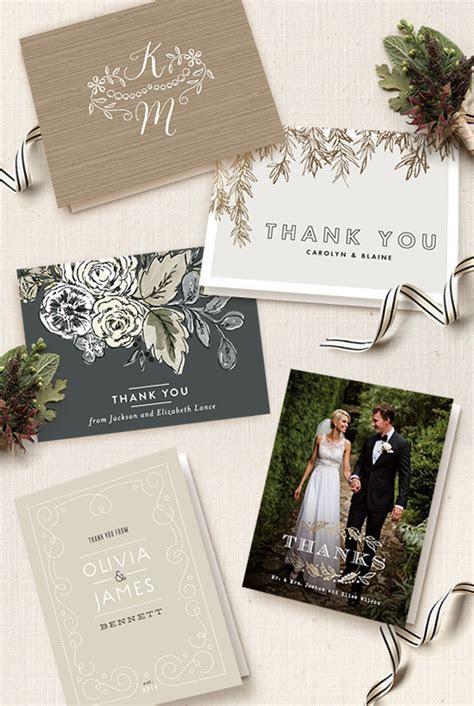 Wedding Thank You Card Etiquette   Julep