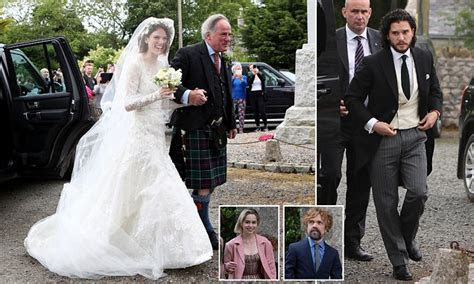 Kit Harington and Rose Leslie wedding: Bride arrives in