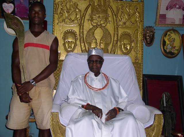 Great OBA OF BENIN IS DEAD!! Akpolokpolo Erediauwa, the monarch of Benin Kingdom has joined his ancestors
