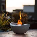 Terra Flame Wave Fire Bowl Od-tt-wav-bge-03n - New, Men's, Size: One Size