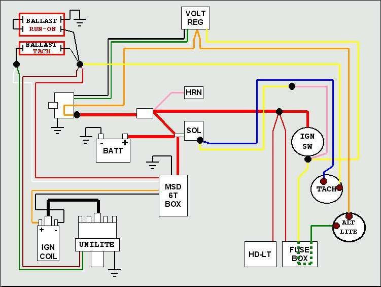 Msd Alternator Wiring Diagram