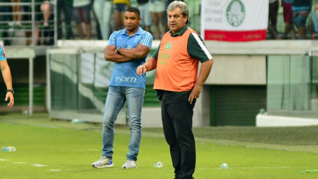 Palmeiras x Chapecoense Gilson Kleina