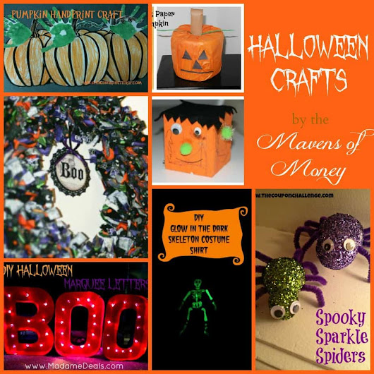 Fun Halloween Crafts Roundup! | This Mama Loves