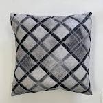 """Vegan Patchwork Printed Decorative Pillow 20"""" x 20"""" / JOY256"""