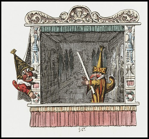 Punch and Judy by George Cruikshank, 1828 j