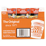 Nissin Cup Noodles, Chicken - 24 pack, 2.5 oz each