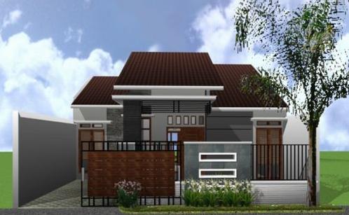 900+ Gambar Rumah Sederhana Yang Ada Pagarnya Terbaik