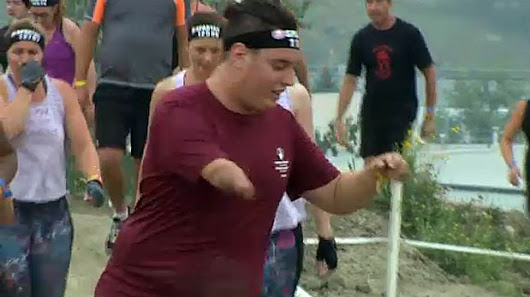 Spartan race competitor overcomes unique challenge to raise money for hospital care