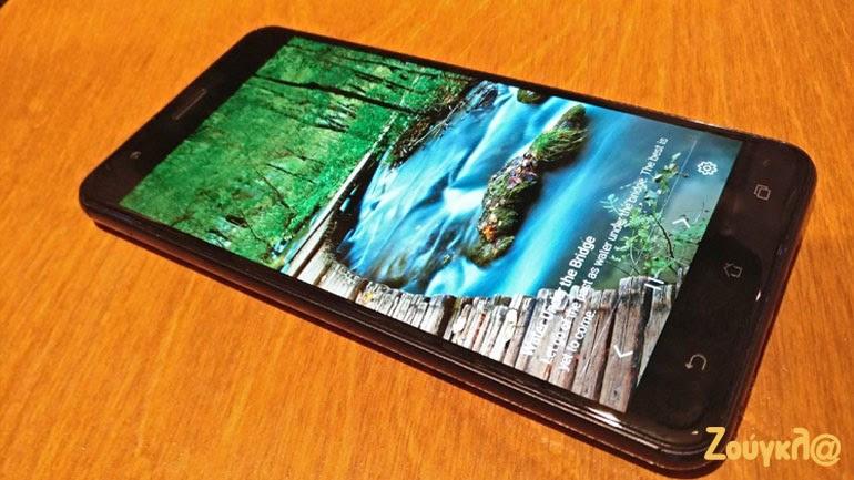 Το ZenFone Zoom S διαθέτει εξαιρετικό λογισμικό όπως φαίνεται για τις φωτογραφικές λήψεις