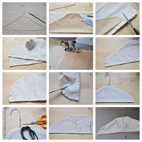 clothes hanger cover