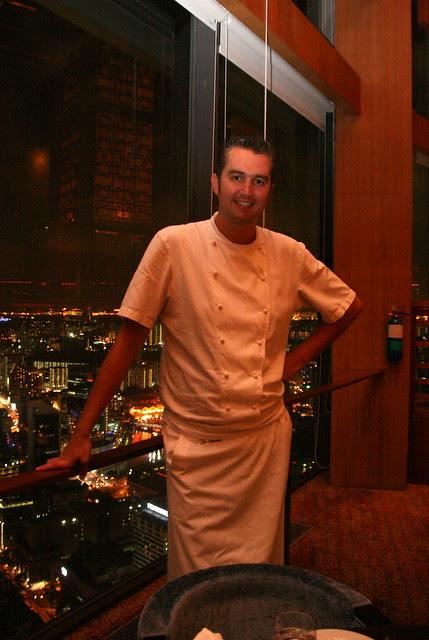 Chef de Cuisine at Equinox, Lee Bennett