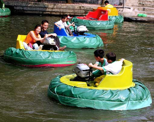Inflatable Bumper Boats Along With Their Advantages