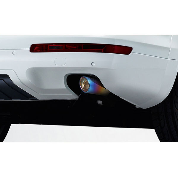 Buy Speedwav Car Exhaust Tail Pipe Tip 10 4cm Long Multicolor Online At Low Price Tvs Accessories