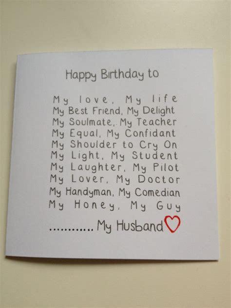 Handmade Gift For Husband Birthday