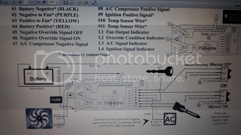 29 Flex A Lite Fan Controller Wiring Diagram