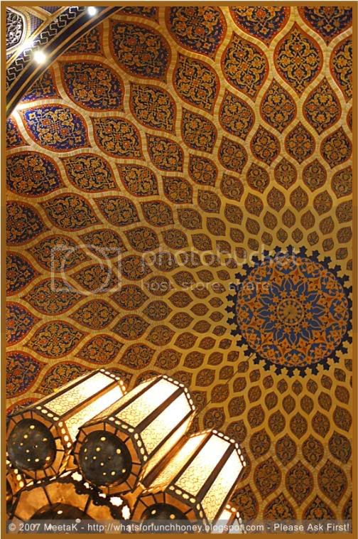 Mosaic ceiling by MeetaK