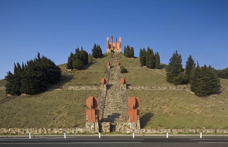 The Pyramid, Spanish-French Border, 1976. Image Courtesy of Ricardo Bofill