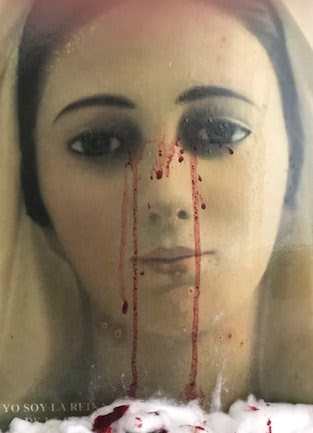 Image result for our lady crying blood