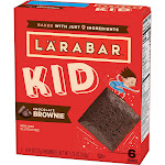 Larabar Kid Chocolate Brownies 6ct / .96oz