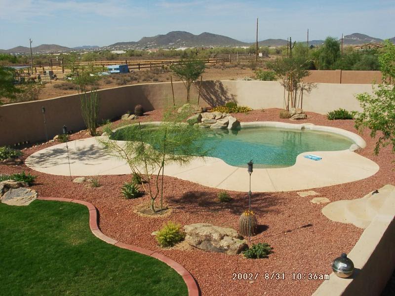 Desert Pool Landscaping Ideas