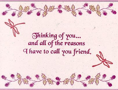 Thinking Of You My Friend Quotespicturescom