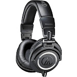 Audio-Technica ATH M50X Over-Ear Headphones