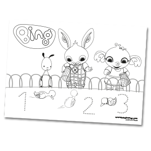 Colouring | Bing Bunny
