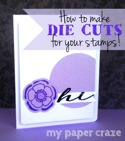 Die cuts, match, stamps