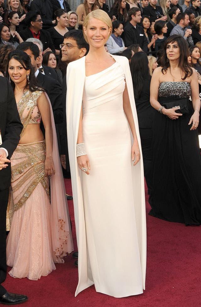 vestido de Gwyneth Paltrow Oscar 2012