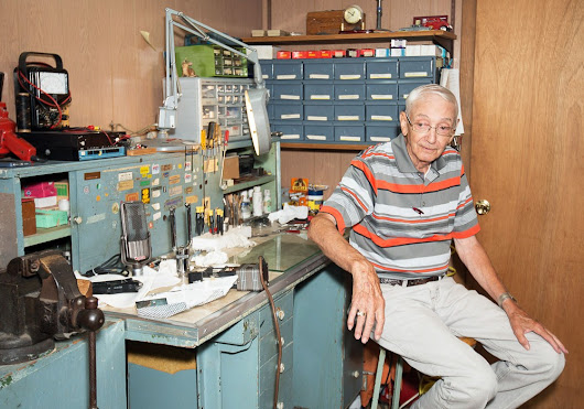 Clarence Kane of ENAK Microphone Repair: Behind the Gear - This Issue's Restorer of Ribbons