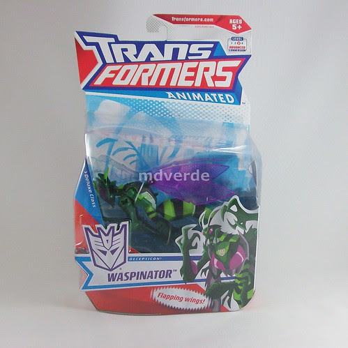 Transformers Waspinator Animated Deluxe - caja