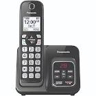 Panasonic KX-TGD530 Expandable Cordless Phone - Metallic Black