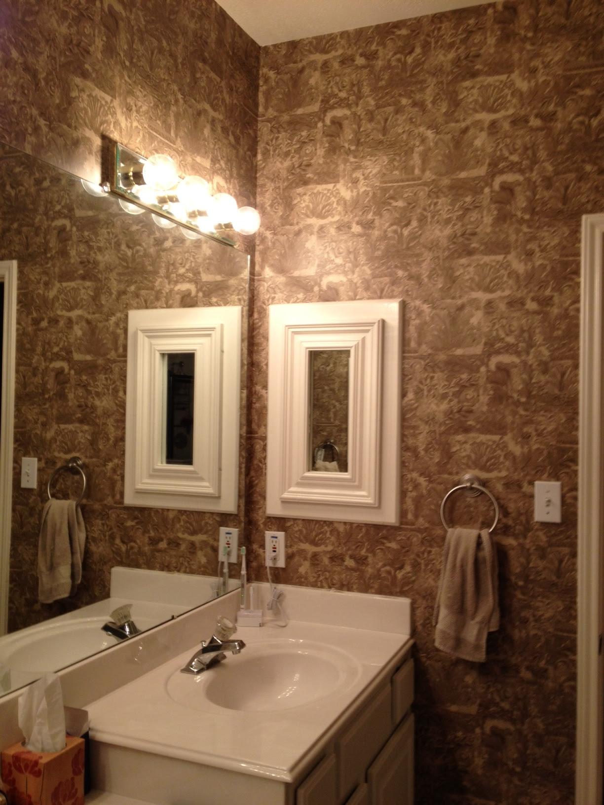 Download Using Wallpaper In Bathrooms Gallery