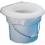 Todd Marine 8002-01W White Bucket Potty Seat