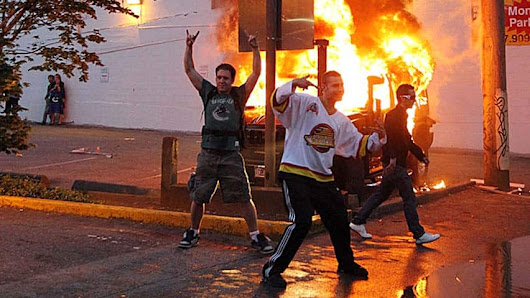 Stanley Cup riot hero charged for not filling out census - British Columbia - CBC News