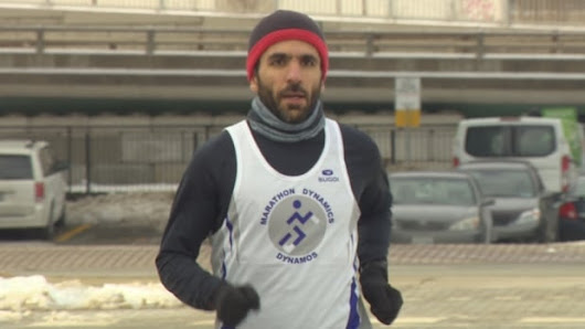 Toronto man finishes Boston Marathon after victory against Trump travel ban | CBC News