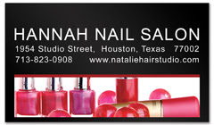 BCS-1080 - salon business card