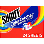Shout Color Catcher 24ct, stain removers