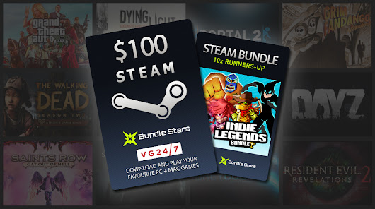 Win! $100 Steam Wallet credit and PC game bundles