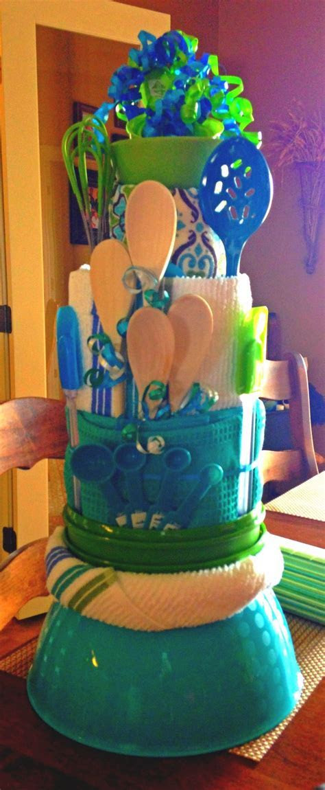 My towel cake I made for bridal shower!   Things I've made