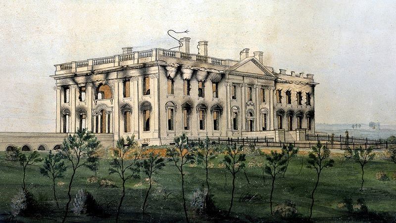 File:The President's House by George Munger, 1814-1815 - Crop.jpg