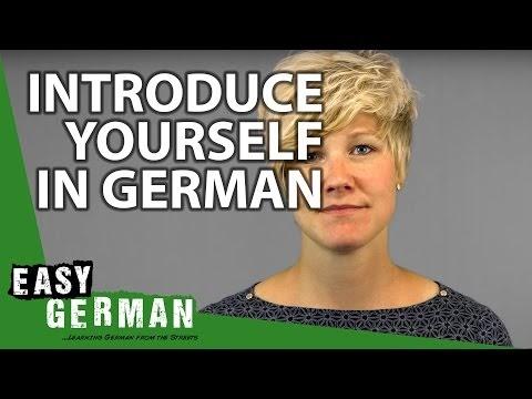 تعلم كيف تقدم نفسك لشخص ما بالالماني .. تعلم الالمانية في 10 كلمات