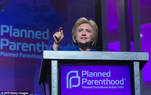 Clinton promises Planned Parenthood to prioritize abortion rights in first policy speech since becoming the presumptive Democratic nominee