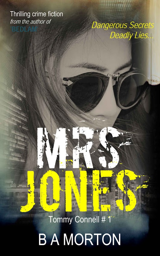 Review Tour – Mrs. Jones by B.A. Morton @Twisted Ink Publishing #BookReview