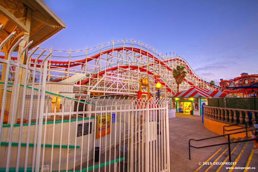 Take fun in afternoon at Belmont Park San Diego