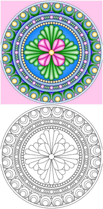 15 Amazingly Relaxing Free Printable Mandala Coloring ...