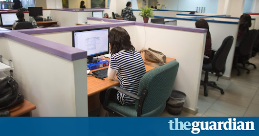 One hour of activity needed to offset harmful effects of sitting at a desk | Life and style | The Guardian